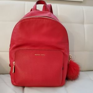 Leather Michael Kors backpack size Medium